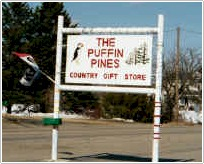 The Puffin Pines Country Gift Store