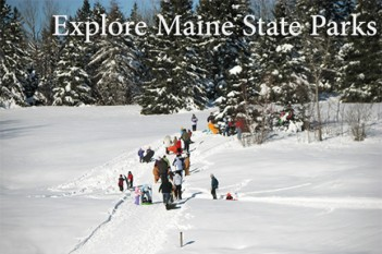 Cobscook Bay State Park Winter Family Fun Day