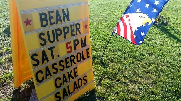 Public Baked Bean Supper